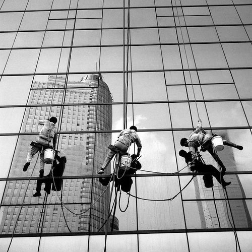 Is there a perfect routine when it comes to window cleaning?