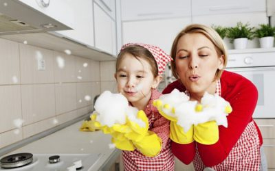 Cleaning tips to get your kids to help you clean up