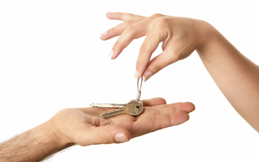 Don't handover the keys until you have called in post-occupation cleaning services