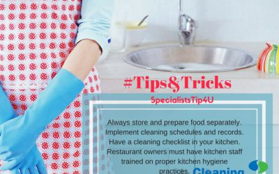 Kitchen hygiene 101: keep calm and keep the kitchen clean